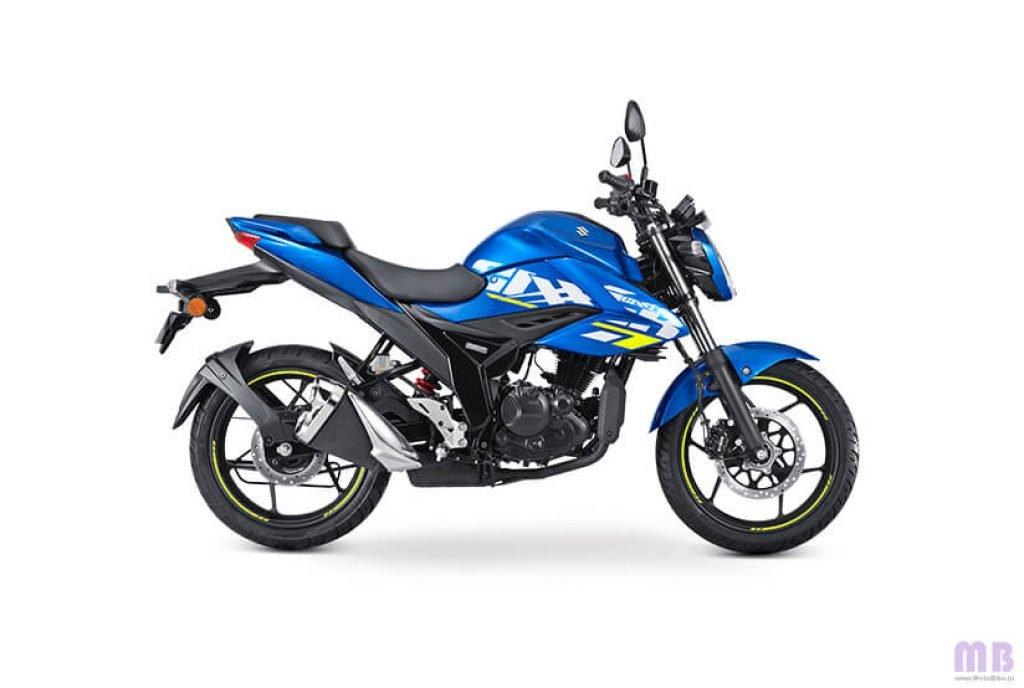 Suzuki Gixxer BS6 - Metallic Triton Blue
