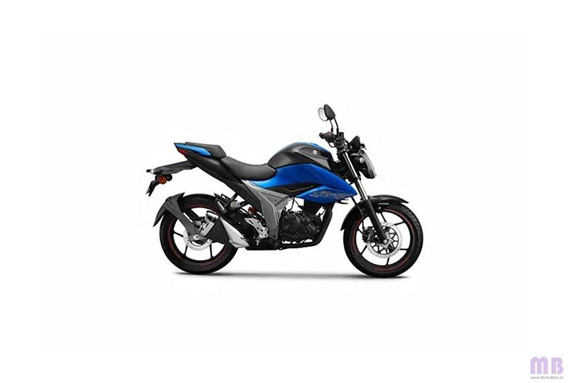 Suzuki Gixxer - Blue