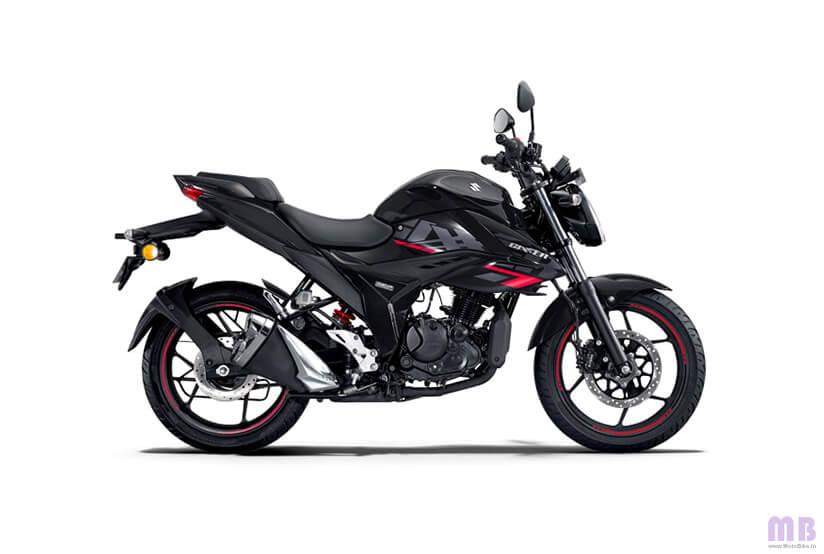 Suzuki Gixxer - Glass Sparkle Black