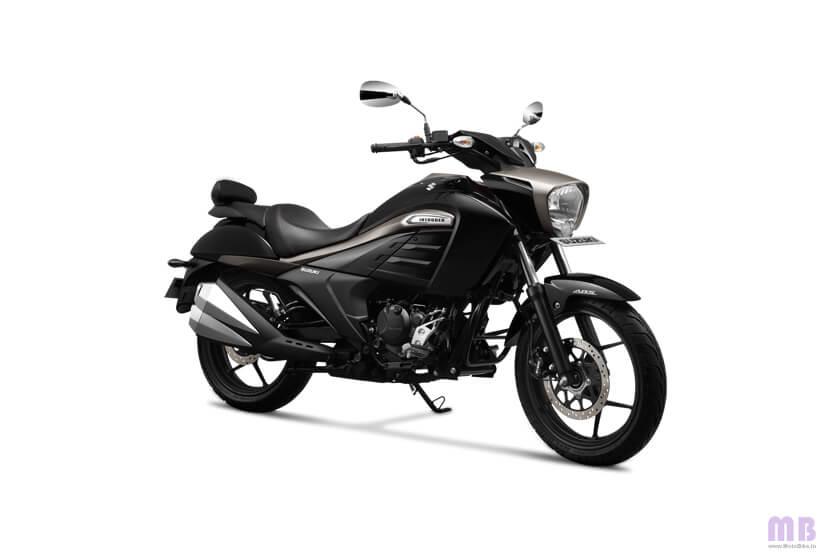 Suzuki Intruder 150 - Glass Sparkle Black/Metallic Matte Titanium Silver