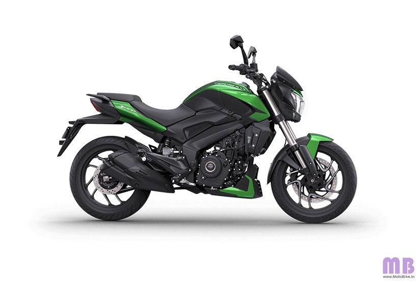 Bajaj Dominar 400 BS6 - Aurora Green