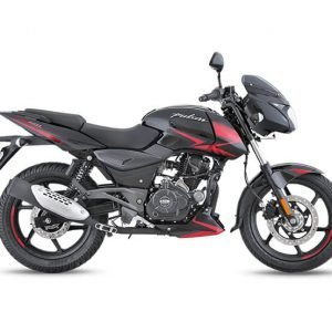 Bajaj Pulsar 180 BS6 - Black Red