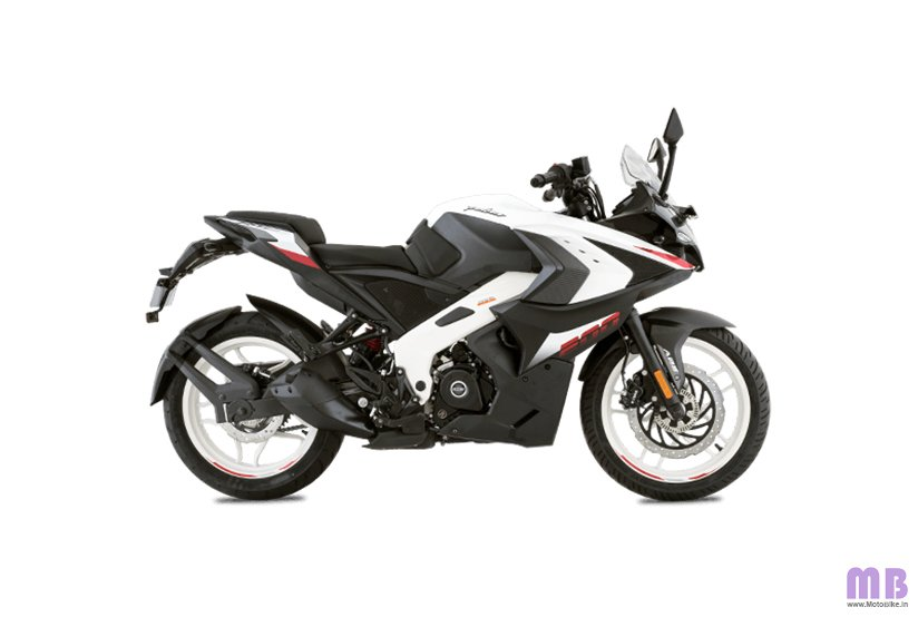 Bajaj Pulsar RS200 BS6 - Metallic Pearl White