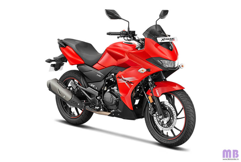 Hero Xtreme 200S BS6 - Sports Red
