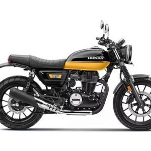 Honda CB350RS BS6 - Black with Pearl Sports Yellow