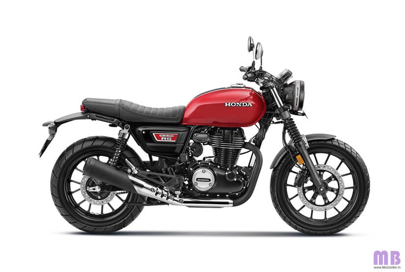 Honda CB350RS BS6 - Radiant Red Metallic