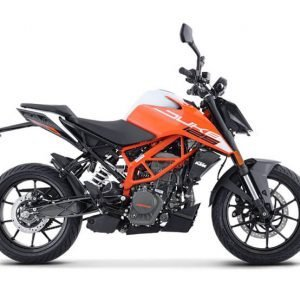 KTM 125 Duke BS6 - Orange