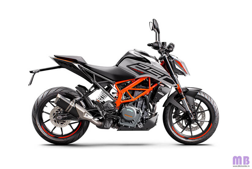 KTM 250 Duke BS6 - Silver Metallic