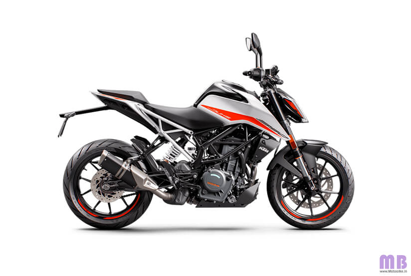 KTM 390 Duke BS6 - Ceramic White