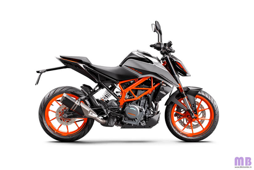 KTM 390 Duke BS6 - Silver Metallic