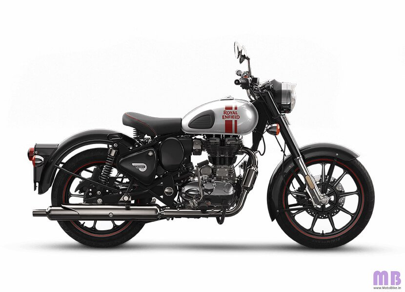 Royal Enfield Classic 350 - Metallo Silver