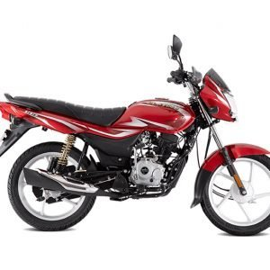 Bajaj Platina 100 BS6 - ES Drum - Red