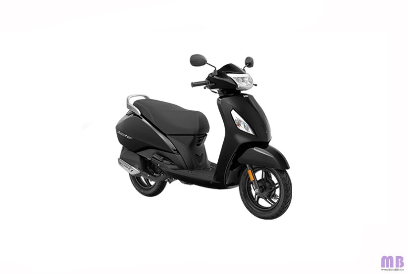 TVS Jupiter BS6 - Standard - Midnight Black