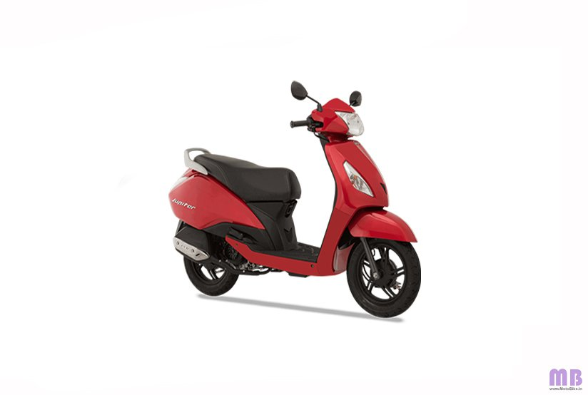 TVS Jupiter BS6 - Standard - Volcano Red