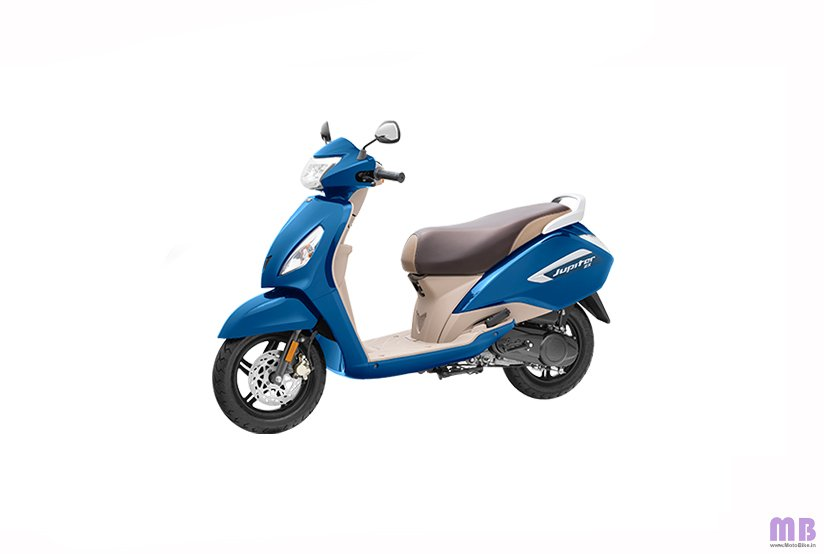 TVS Jupiter BS6 - ZX Disc - Starlight Blue