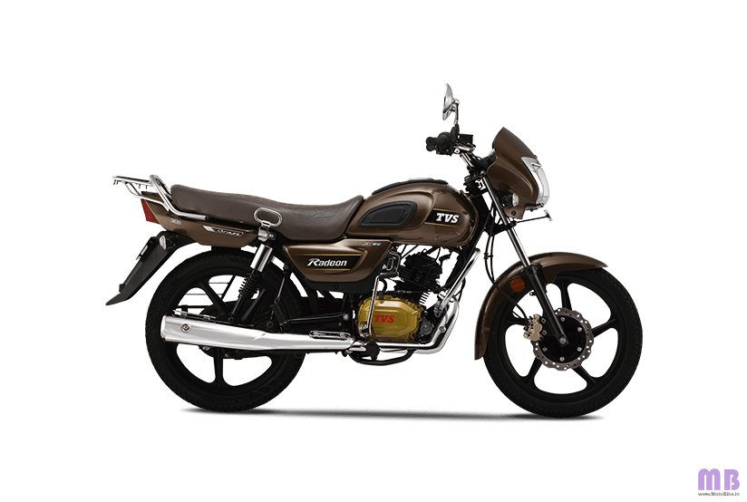 TVS Radeon BS6 - Chrome Brown