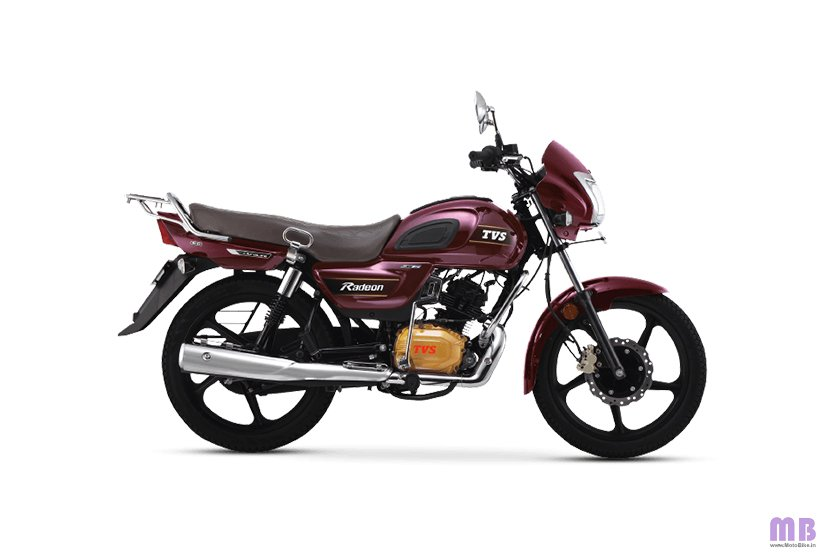 TVS Radeon BS6 - Chrome Purple
