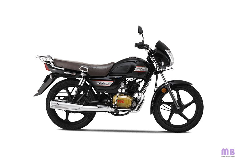 TVS Radeon BS6 - Metal Black