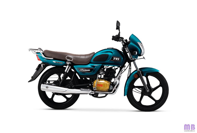 TVS Radeon BS6 - Regal Blue