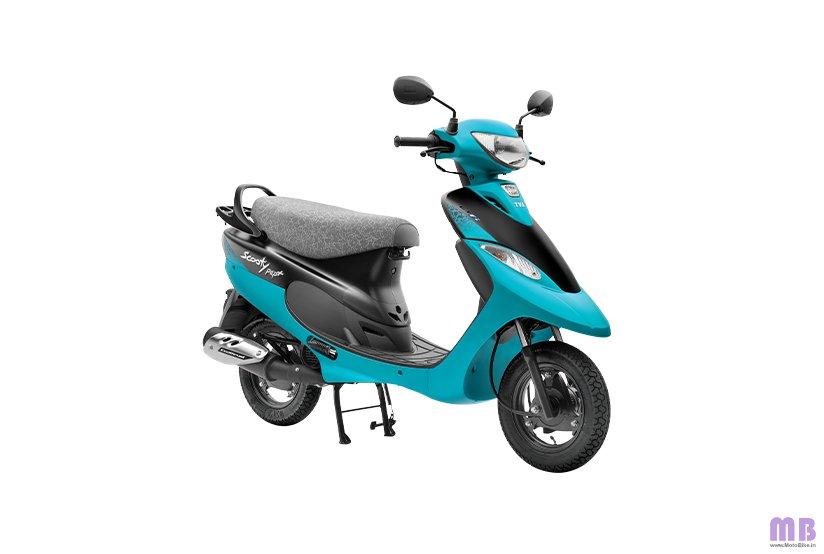TVS Scooty Pep Plus BS6 - Aqua Matte