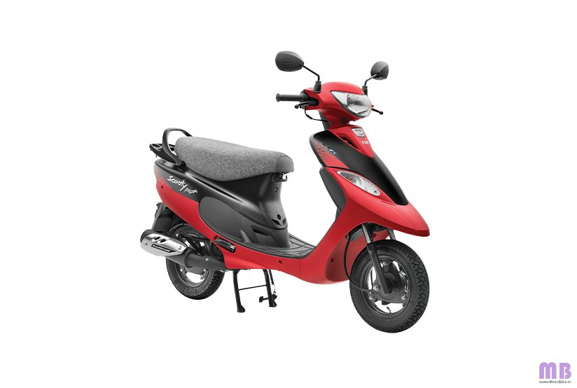 TVS Scooty Pep Plus BS6 - Coral Matte