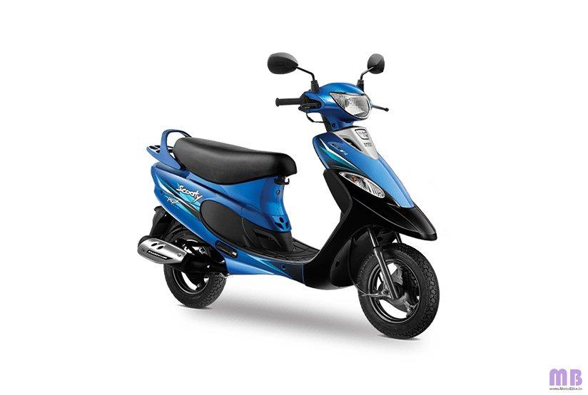 TVS Scooty Pep Plus BS6 - Nero Blue