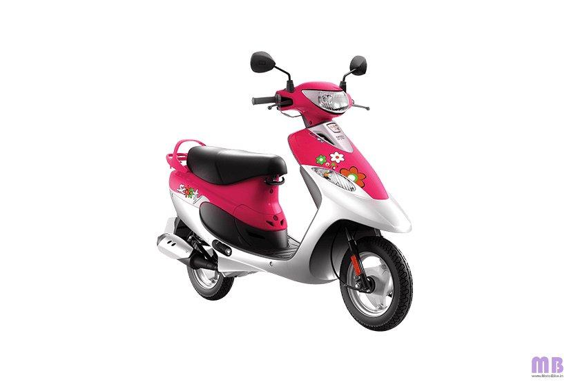 TVS Scooty Pep Plus BS6 - Princess Pink