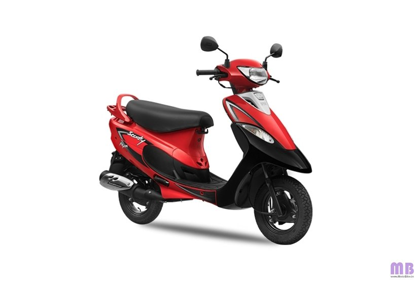 TVS Scooty Pep Plus BS6 - Revving Red
