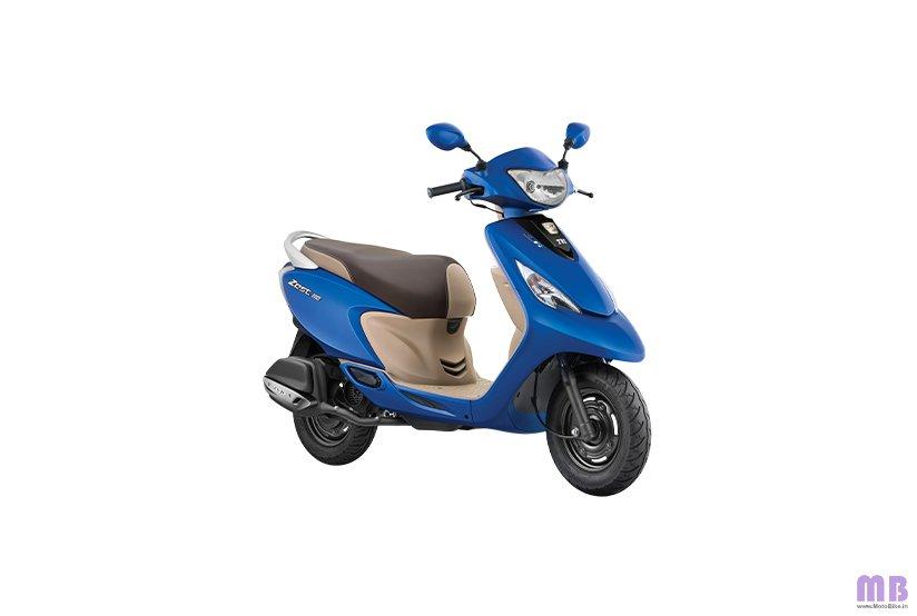 TVS Scooty Zest 110 BS6 - Matte Blue