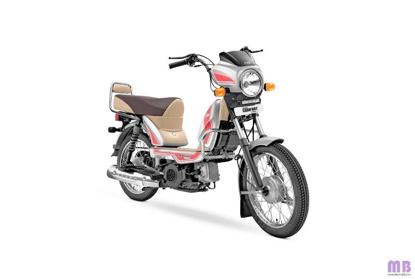 TVS XL100 Comfort BS6 - i-Touchstart - Silver