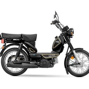 TVS XL100 Heavy Duty BS6 - Black (Kick)