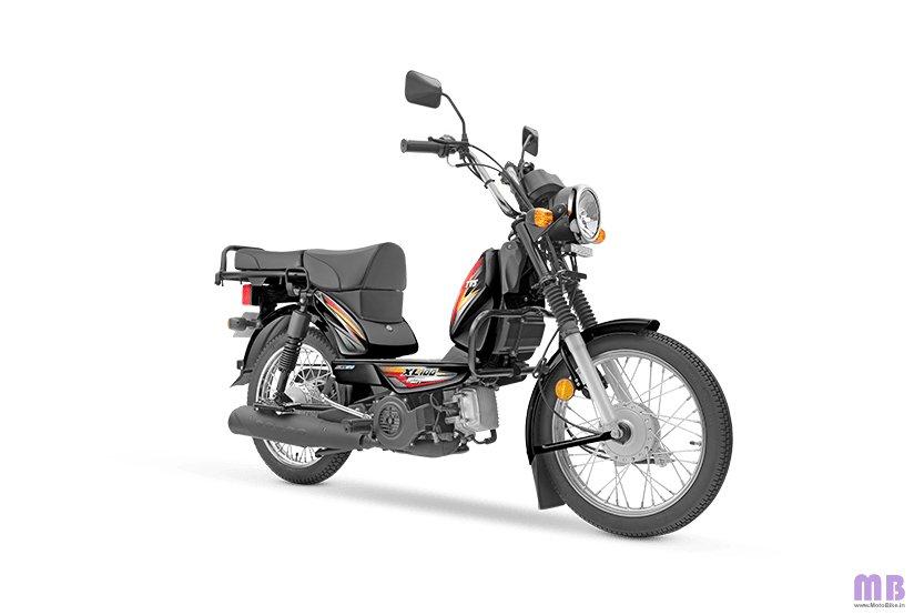 TVS XL100 Heavy Duty BS6 - i-Touchstart - Black