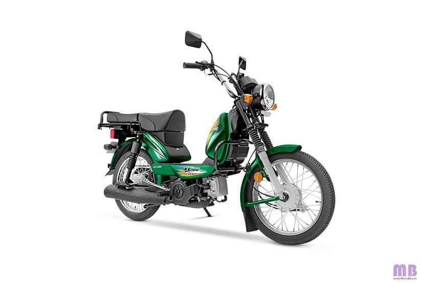 TVS XL100 Heavy Duty BS6 - i-Touchstart - Green