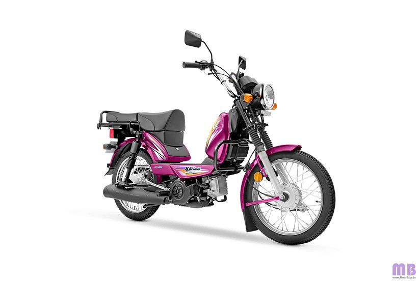 TVS XL100 Heavy Duty BS6 - i-Touchstart - Purple