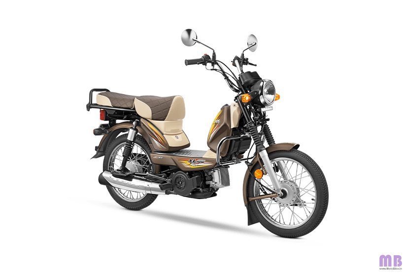 TVS XL100 Heavy Duty BS6 - i-Touchstart Win Edition - Beaver Brown