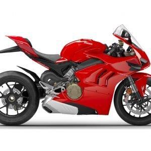 Ducati Panigale V4 - Ducati Red