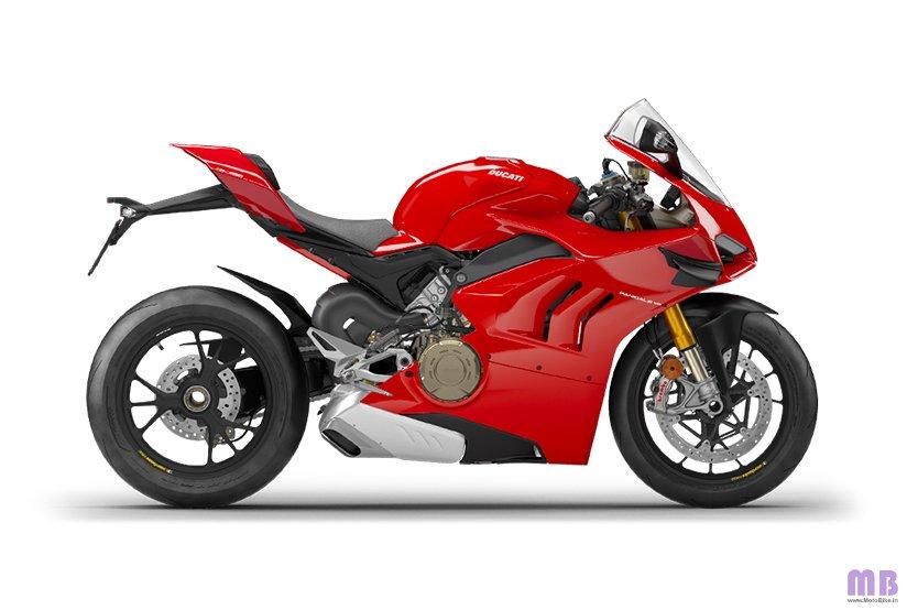 Ducati Panigale V4 S - Ducati Red