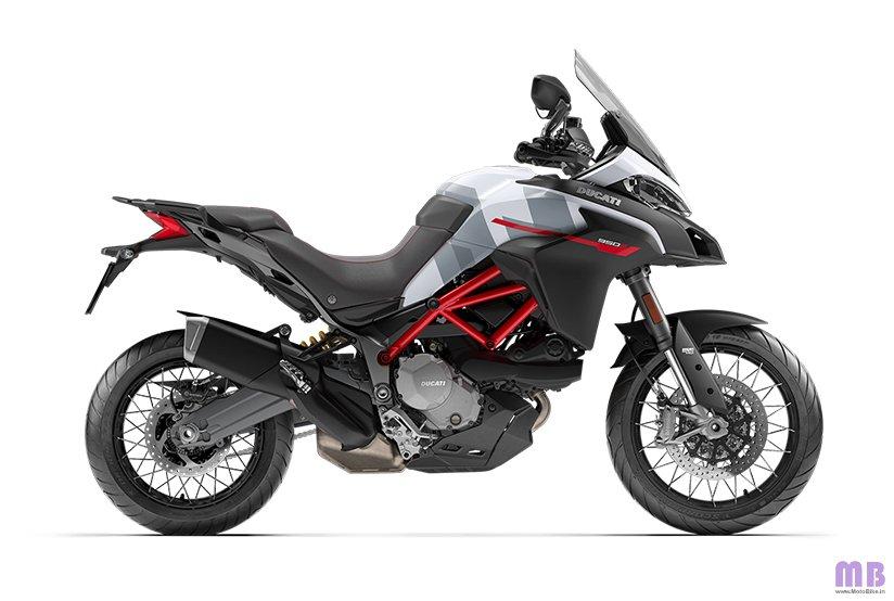 Ducati Multistrada 950 S Spoke Wheels - GP White