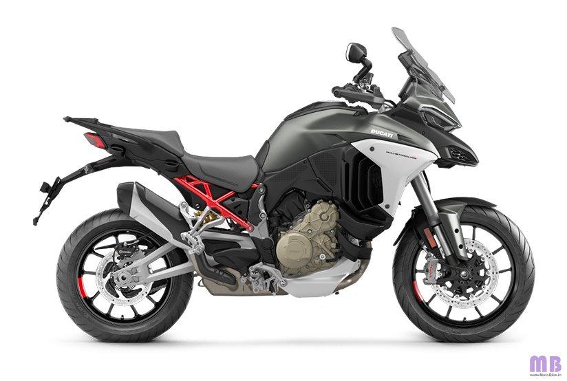 Ducati Multistrada V4 S - Aviator Grey - Forged Wheels