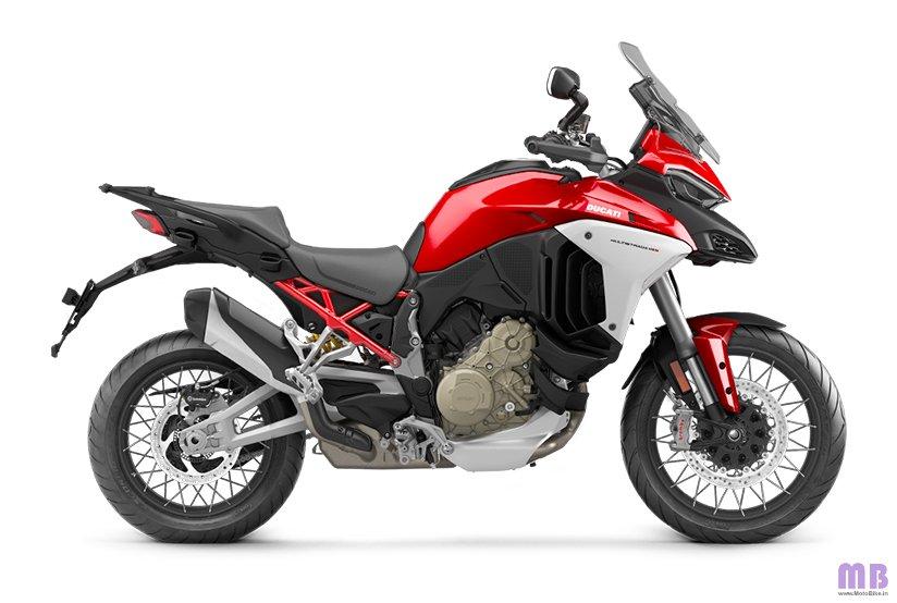 Ducati Multistrada V4 S - Ducati Red - Spoked Wheels