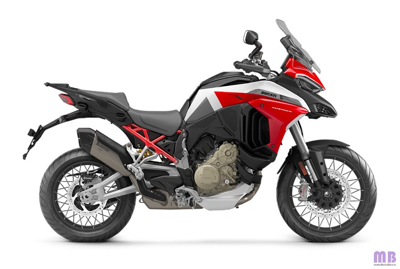 Ducati Multistrada V4 S Sport - Sport Livery - Spoked Wheels