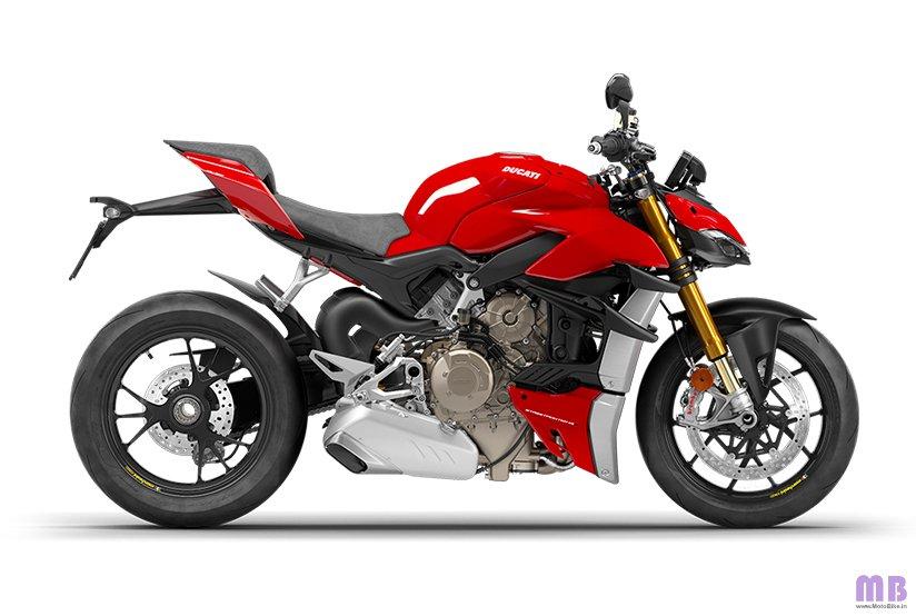 Ducati Streetfighter V4 S - Ducati Red