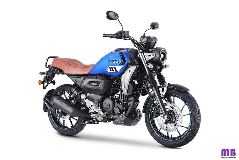 Yamaha FZ X 150 - Metallic Blue